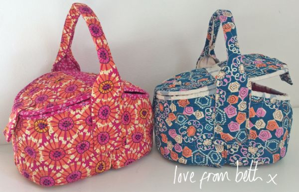 Love From Beth - The Quilted Hamper Sewing Pattern
